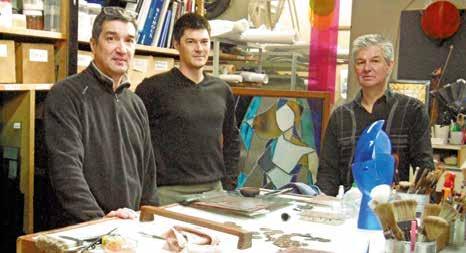 L'Atelier Bassinot empreint de l'esprit École de Nancy.