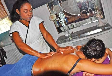 Se libérer des tensions par le massage pour se sentir en accord avec soi-même.