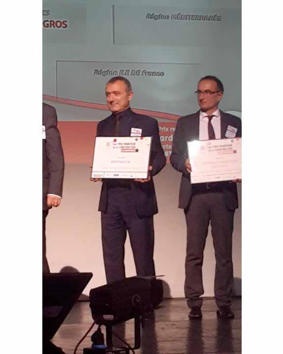 L'entreprise Berthold a reçu en décembre le prix Moniteur pour le Grand Est dans la catégorie gros Tmuvre.