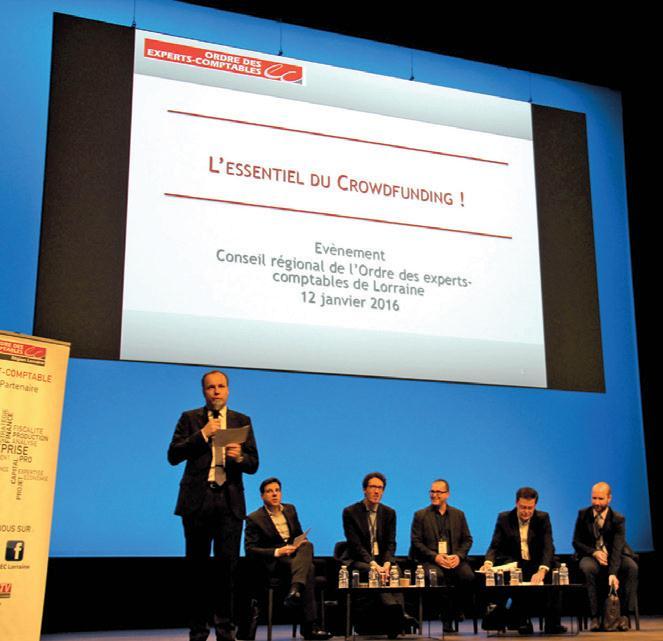 Oliver Balestraci, le président de l'Ordre des experts-comptables de Lorraine a fait évoluer la traditionnelle journée de formation sur la loi de finances.