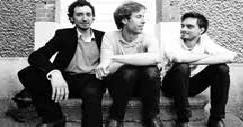 L'équipe Idée Ad (de gauche à droite - Vincent Schneider, Arthur Peultier et Lou Robert).