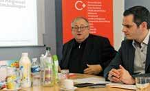Serge Bouly, vice-président du Grand Nancy délégué à la collecte et au traitement des déchets et Christophe Neumann, directeur région d'Éco-Emballages.