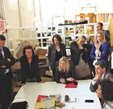 Les élus du Conseil régional visitent les écosystèmes du territoire pour élaborer le SRDEII comme ici à Nancy, le 28 juin dernier.