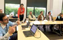 Un atelier workshop pour montrer les nouvelles solutions de gestion.