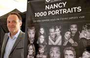Maître Frédéric Ferry, le bâtonnier de l'Ordre des avocats du barreau de Nancy fait participer le monde de la Justice au projet «I will shoot your face».