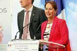 «La filière de la chimie verte n'est est qu'à ses débuts», assure Ségolène Royal, la ministre de l'Environnement lors de son passage dans l'usine Schweitzer de Ludres.
